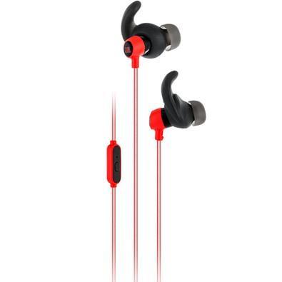 Fone de Ouvido Intra Auricular JBL Reflect Mini Vermelho - JBLREFMINIRED