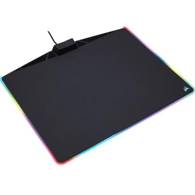 Mousepad Gamer Corsair Polaris MM800 RGB, Rígido, Control, Médio (350x260mm) - CH-9440020