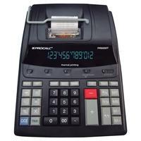 Calculadora Procalc Impressão Térmica, Uso Contínuo, Profissional, 12 dígitos, Bivolt PR5000T Preta