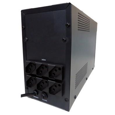 Nobreak Lacerda UPS New Orion Premium 1400VA Bivolt AUT. S115V 6 Tomadas 010142111-E16
