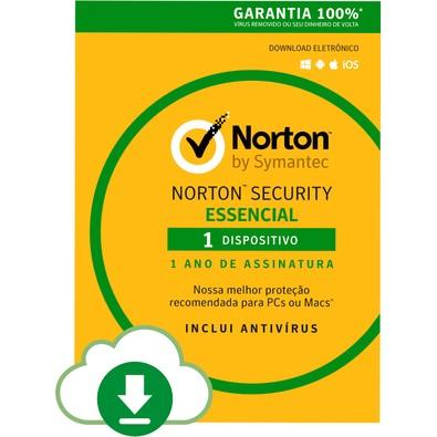 Norton Security 1 Dispositivo 12 Meses - Digital para Download