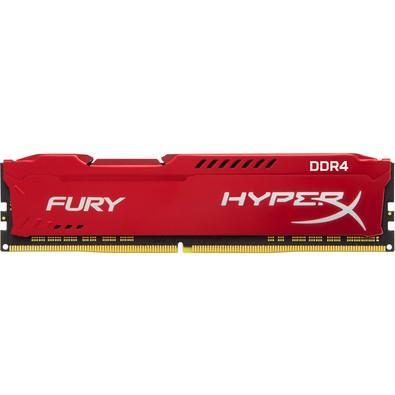 Memória Kingston HyperX FURY 8GB 2133Mhz DDR4 CL14 Red - HX421C14FR2/8