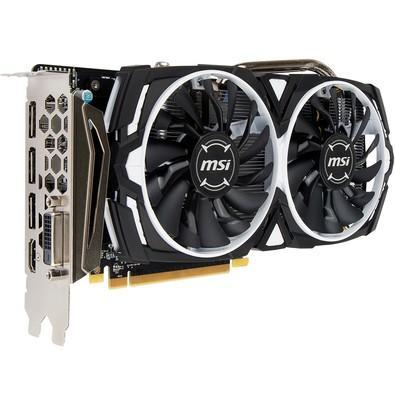 Placa de Vídeo MSI AMD Radeon RX 570 Armor 4G OC, GDDR5
