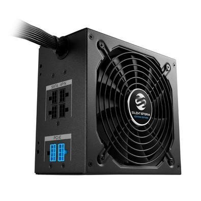 Fonte Sharkoon 550W 80 Plus Bronze Semi Modular SilentStorm Icewind Black