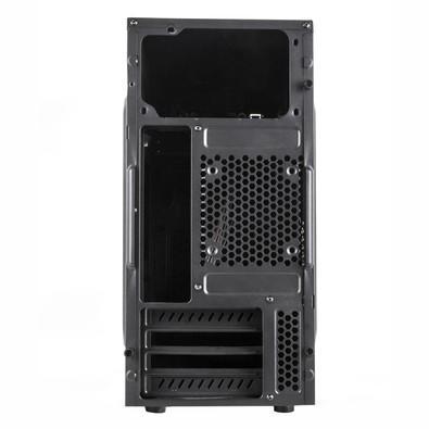 Gabinete NOX FORTE, Micro ATX, USB 3.0, Preto NXFORTE
