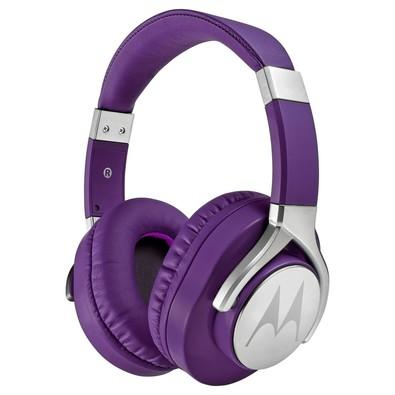 Headphone Motorola Pulse Max Wired Roxo