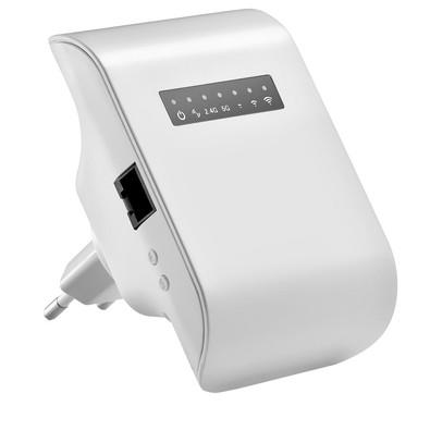 Repetidor Multilaser Wi-Fi 750AC Dual Band Bivolt Branco - RE054