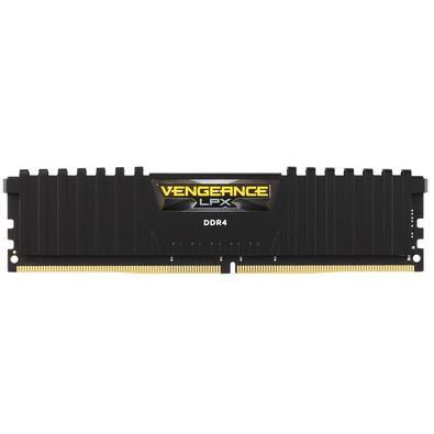 Memória Corsair Vengeance LPX 8GB 2666Mhz DDR4 CL16 Black - CMK8GX4M1A2666C16