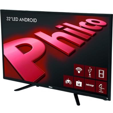 Smart TV Philco 32´ LED HD com Conversor Digital 2 HDMI 2 USB Wi-Fi Android - PH32B51DSGWA