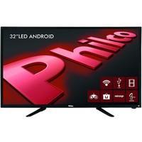 Smart TV Philco 32´ LED HD com Conversor Digital 2 HDMI 2 USB Wi-Fi Android - PH32B51DSGWA