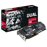 Placa de Vídeo Asus AMD Radeon RX 580 OC 8GB, GDDR..