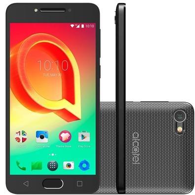 SMARTPHONE ALCATEL A5 LED, 16GB, 16MP, TELA 5.2´, PRATA - 5085J