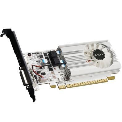Placa de Vídeo VGA Galax NVIDIA GeForce GT 1030 2GB DDR5 64Bits Exoc 30NPH4HVQ5EW