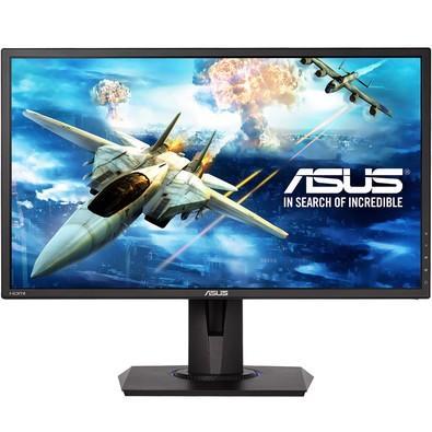 Monitor Gamer Asus LED 24´ Widescreen, Full HD, HDMI/VGA, FreeSync, Som Integrado, 1ms, Altura Ajustável - VG245H