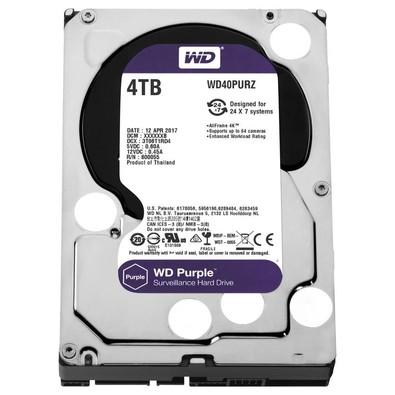 Hd Interno 4tb Western Digital Wd40pur