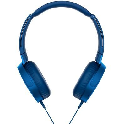 Headphone Sony Azul MDRXB550AP/L