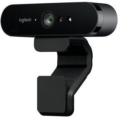WebCam Logitech Brio 4K Pro Full HD Tecnologia HDR RightLight 3