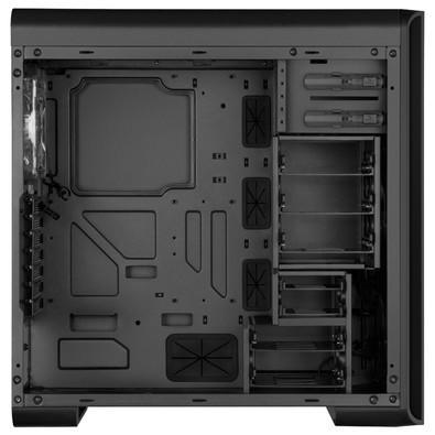 Gabinete Sharkoon ATX BW9000 Glass Black