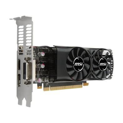 Placa de Vídeo VGA NVIDIA MSI GEFORCE GTX 1050 TI 4GT LP DDR5 128Bits DVI/HDMI/DP