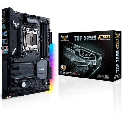 Placa-Mãe Asus TUF X299 MARK 2, Intel LGA 2066, ATX, DDR4