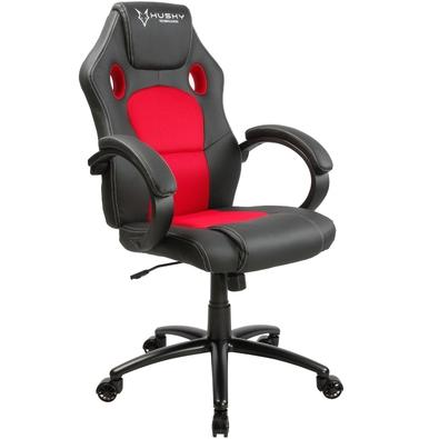 Cadeira Gamer Husky Snow Black Red HSN-BR