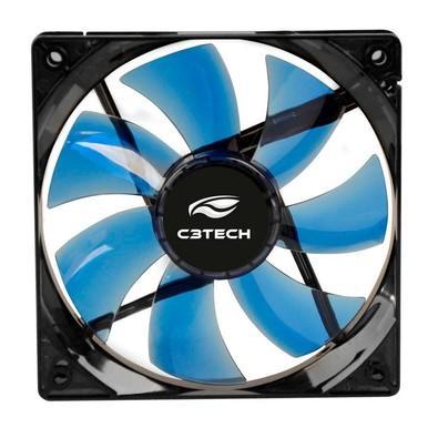 Cooler FAN C3 Tech F7-L50 BL Storm 8cm LED C3T
