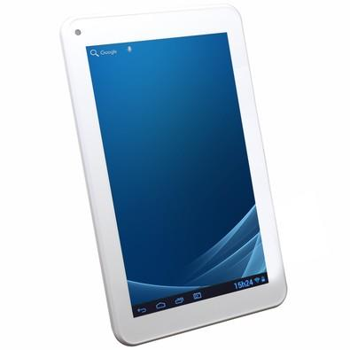 Tablet Dazz Quad Core 7´ WiFi 1GB 8GB DZ7bt 69197 Branco
