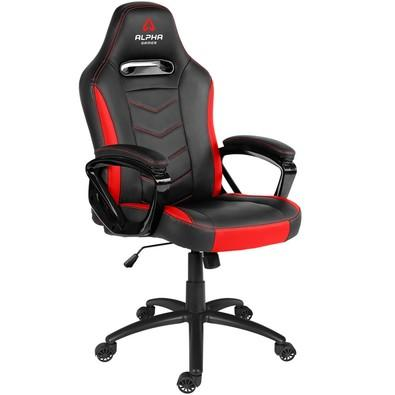 Cadeira Gamer Alpha Gamer Kappa, Black Red