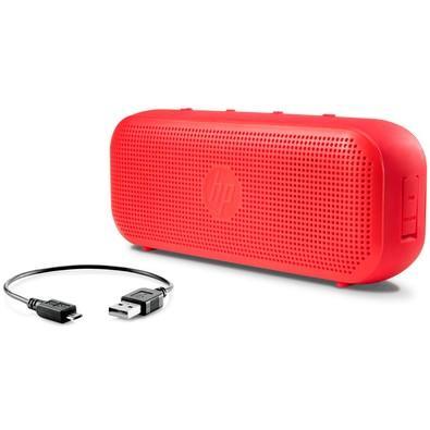 Caixa de Som HP Bluetooth Speaker S400 Vermelho