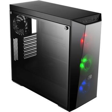 Gabinete Coolermaster MasterBox Lite 5 RGB ATX Black MCW-L5S3-KGNN-02