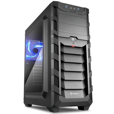 Gabinete Sharkoon Skiller SGC1 Window - Black