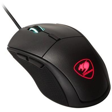 Mouse Gamer Cougar 12000DPI 6 Botões com LED Preto Minos X5