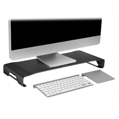 Suporte Sharkoon  para Monitor Alumínio - Stand Pro Bk