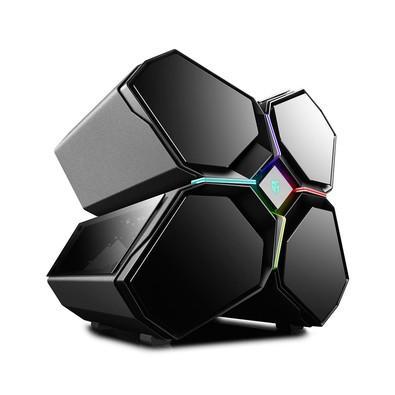 Gabinete Deepcool Quadstellar, E-ATX, RGB, com FAN
