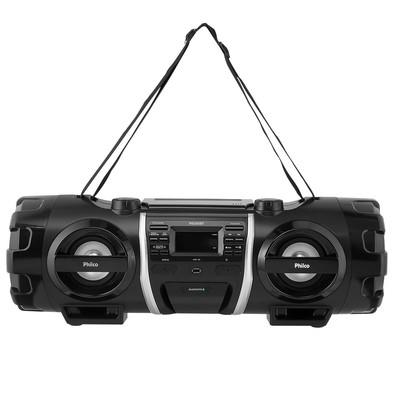 Rádio Portátil Philco - Bluetooth, CD, MP3, USB, Aux. e FM 200W RMS Bivolt Preto - PB500BT 056603148