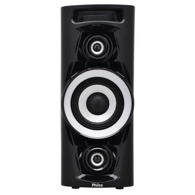 Caixa Acústica Portátil Philco - Bluetooth, MP3, USB, Aux. e FM 100W RMS Bivolt Preto c/ Bateria Interna - PHT3000 056603711