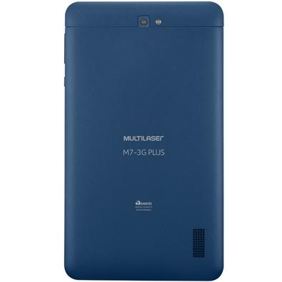 Tablet Multilaser M7 3G Plus Quad Core 7´ Wi-Fi Bluetooth GPS Android 7.0 Azul - NB270