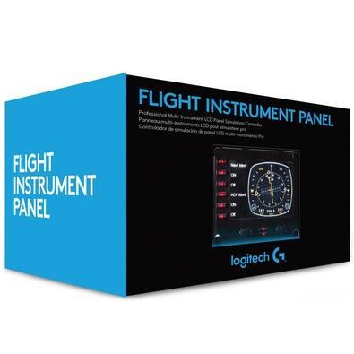 Painel de Instrumentos LCD de Vôo Saitek Logitech - 945-000027