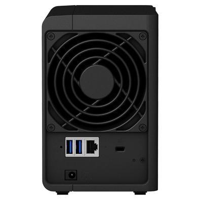 Storage Synology NAS DiskStation Realtek RTD1296 Quad Core 1.4GHz 2GB DDR4 - Torre 2 Baias Sem Disco - DS218