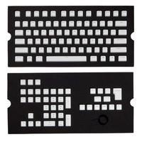 Conjunto de Teclas Corsair Compátivel com Switch Cherry MX, Branco - CH-9000234