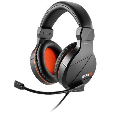 Headset Gamer Sharkoon Preto Rush ER3