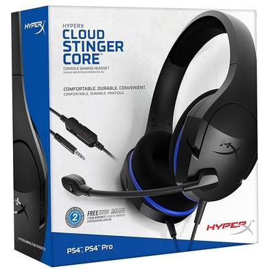Headset Gamer HyperX Cloud Stinger Core PS4/Nintendo Switch - HX-HSCSC-BK