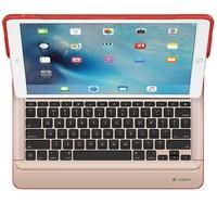Capa Create Logitech Com Teclado Iluminado Para iPad Pro 12.9´ Vermelho - 920-007775