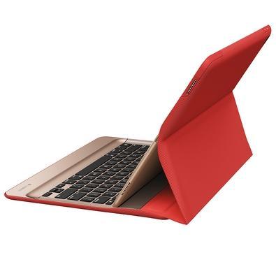 Capa Create Logitech Com Teclado Iluminado Para iPad Pro Vermelho - 920-007775