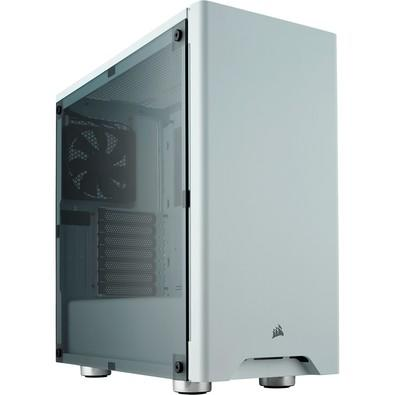 Gabinete Corsair Gamer Carbide 275R Branco com Lateral de Acrílico - CC-9011131-WW
