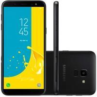 Smartphone Samsung Galaxy J6, 64GB, 13MP, Tela 5.6´, TV Digital, Preto - SM-J600GZ