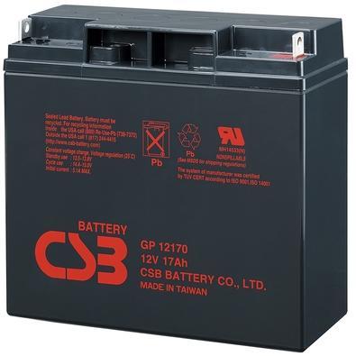 Bateria CSB VRLA 12V 17AH - GP12170