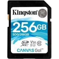 Cartão de Memória Kingston Canvas Go! SD Card 256GB - SDG/256GB