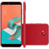 Smartphone Asus Zenfone 5 Selfie Pro, 128GB, 20MP, Tela 6´, Vermelho - ZC600KL-5C127BR
