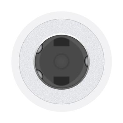 Adaptador de Lightning Apple para conector de fones de ouvido de 3.5mm, Branco - MMX62BZ/A